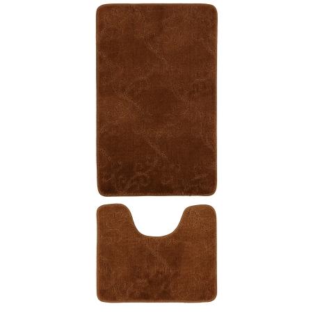 Gold Case Klozet Takımı Bny-50x80 2'li Kahve