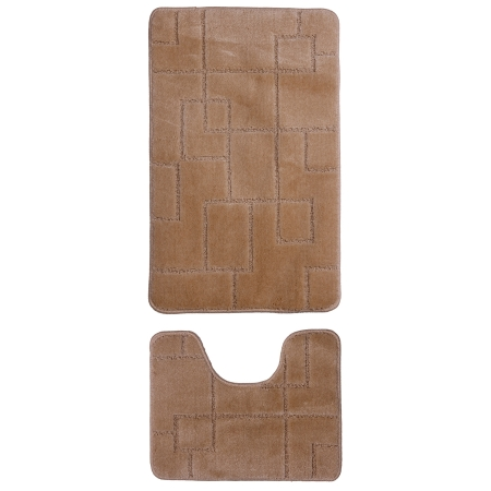 Gold Case Klozet Takımı Bny-50x80 2'li Bej
