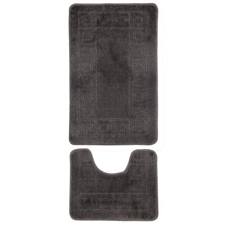 Gold Case Klozet Takımı Bny-50x80 2'li Gri