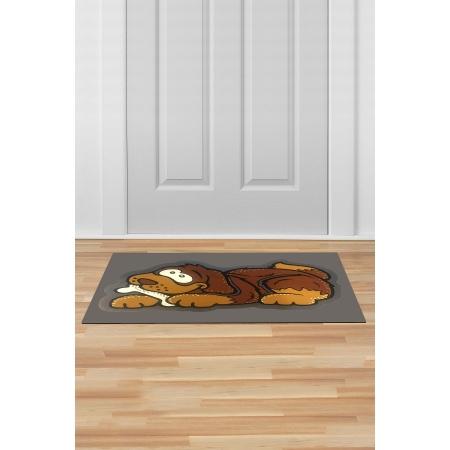 İç ve Dış Kapı Önü Paspası 45x70 KÖPEK KOYU