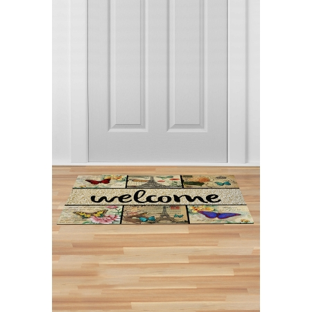 İç ve Dış Kapı Önü Paspası 45x70 WELCOME-01