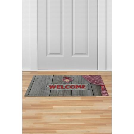 İç ve Dış Kapı Önü Paspası 45x70 WELCOME-10
