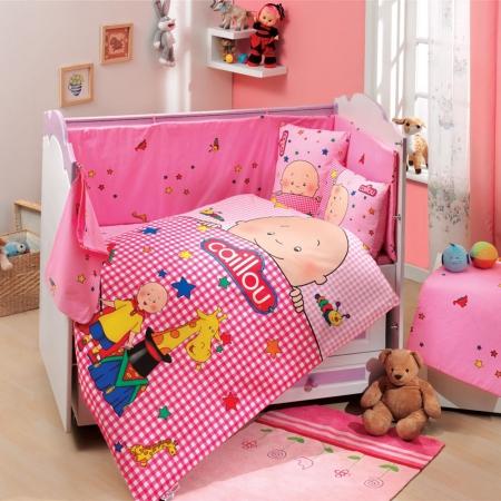 Hobby Ranforce Lisanslı Bebek Uyku Seti Caillou Pink