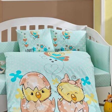 Hobby Ranforce Bebek Nevresim Takımı Lovely Mint