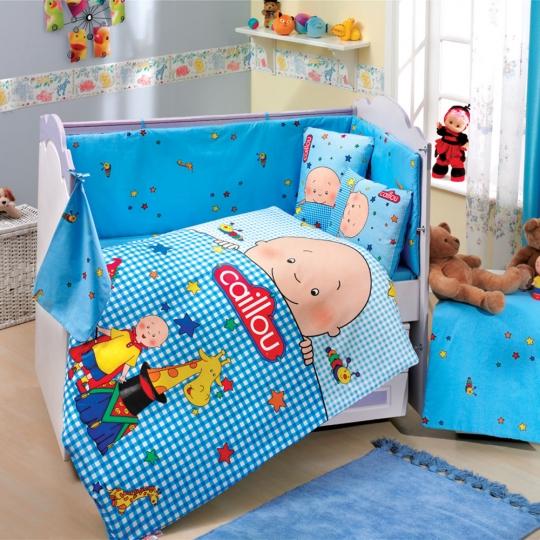 Hobby Ranforce Lisanslı Bebek Uyku Seti Caillou Blue